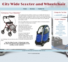 City Wide Scooter and Wheelchair