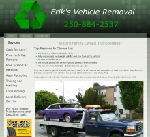 Eriks Vehicle Removal