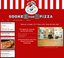 Sooke 2-for-1Pizza with Andy the Pizza Man