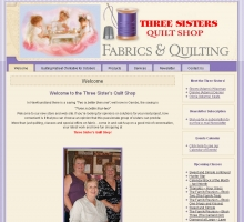 Three Sisters Quilt Shop